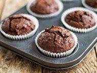 Рецепта Мъфини с три вида шоколад - бял, натурален и млечен